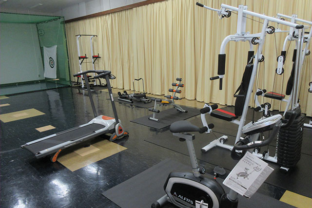 光和寮:トレーニングルーム